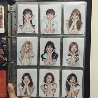 [WTS] Twice - Page Two Flower Version Photocard Set