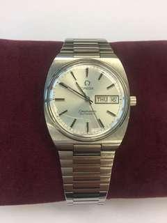 Omega 男裝鋼帶錶