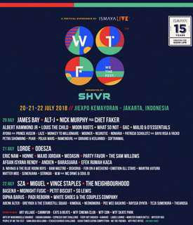 We the fest / wtf 2018