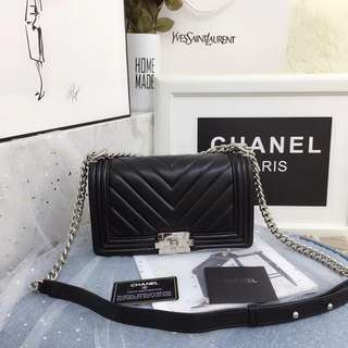 Chanel Boy CHEVRON BAG