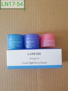 LN17-54 sleeping care good night kit(3 items)