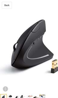 ANKER AK-UBA 2.4G Wirless Vertical Ergonomic Optical Mouse 無線滑鼠