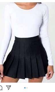 American apparel tennis skirt