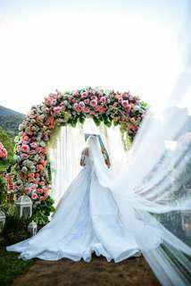 Off-shoulder Designer Wedding Dress