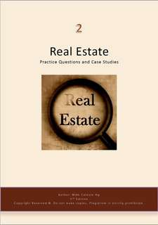 RES Exams - Real Estate Practice Questions Case Studies