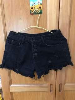 🚚 黑色排釦褲#女裝半價拉