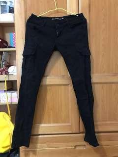 🚚 黑色工作褲#女裝半價拉