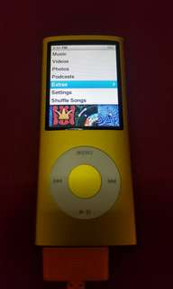 Apple ipod nano 4th gen 16gb batt issue