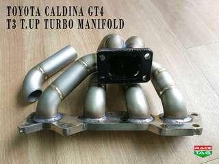 TOYOTA CALDINA GT4 TURBO UP T3 TURBO MANIFOLD