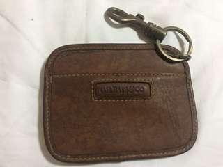 BASS leather purse