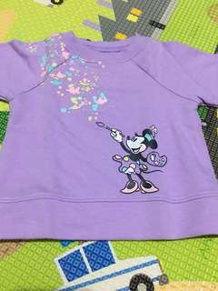 Sweater Minnie Purple