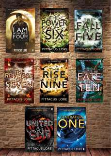 Pittacus Lore I Am Number Four Series E-books