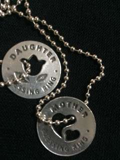 Blessing Rings: Mother & Daugther necklace