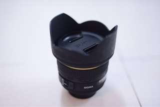 sigma 50mm f1.4 HSM for nikon