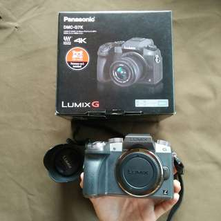 Lumix G7 4K Mirrorless Micro Four Thrids + Kit Lens 14-42MM