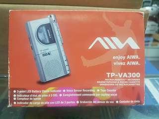 AUWA MICROCASSETTE RECORDER