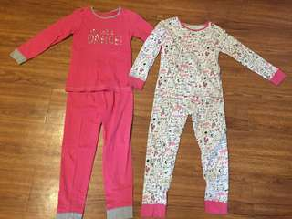 Mothercare Girls Pyjamas (6-7yo)