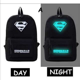 Men&women's bag (Glowing in the dark)