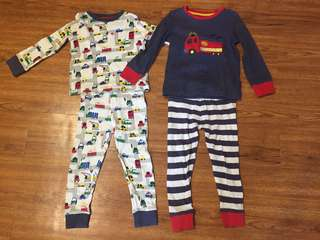 Mothercare Boys Pyjamas (3-4yo)