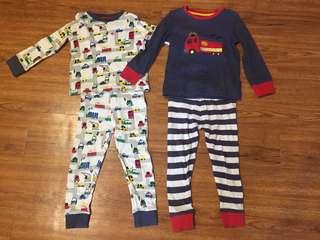 Mothercare Boys Pyjamas (3-4yo)
