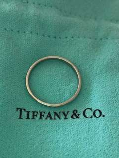 TIFFANY & CO PLATINUM RING