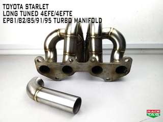 TOYOTA STARLET LONG TUNED 4EFE/4EFTE EP81/82/85/91/95 TURBO MANIFOLD