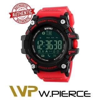 SKMEI 1227 W.Pierce Men Smart Watch Pedometer Calories Chronograph Fashion Outdoor Sports Watches 50M Waterproof Digital Wristwatches 1227 Casio,Zoo York,Timex,Time Depot,Mossimo,G-Shock,Gshock