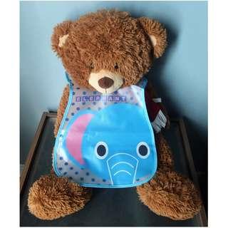 Waterproof Bib - Elephant
