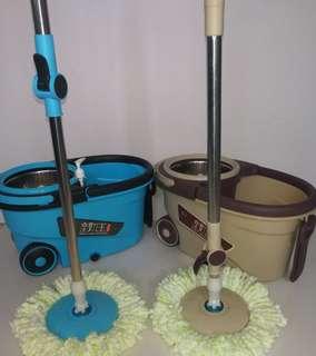 Mop stainless steel revolving mop good mop