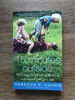 15 Minutes Outside by Rebecca Cohen