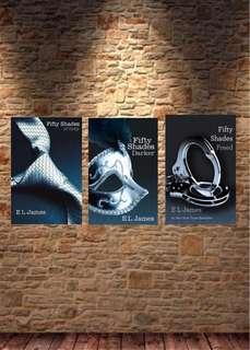 EL James Fifty Shades Trilogy E-book