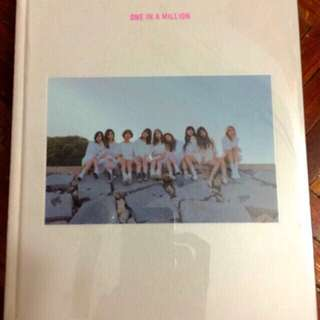 Twice one in the million photobook