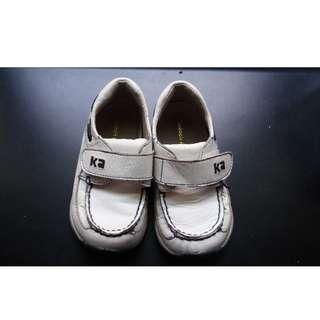 金安德森 男童 白皮鞋