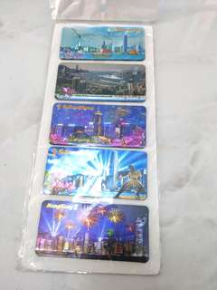 Beautiful Hong Kong Magnets