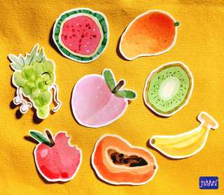 Frooti Fruit Stickers!!