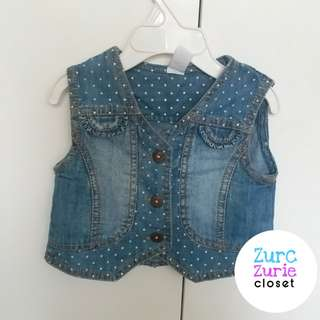 Max Maong Vest | Size 12-18M (may fit till 24M petite) | Excellent Condition