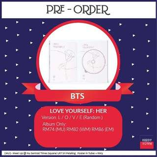 (PRE-ORDER) BTS - LOVE YOURSELF HER