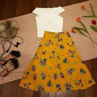 Zara Crossover Off Shoulder Knit Top