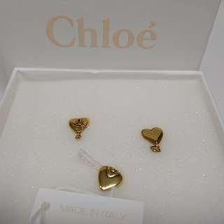 <NEW> Chloe gold-tone earrings