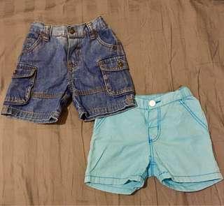H&M & Mothercare Short pants celana pendek