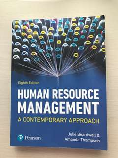 Human Resource Management a Contemporary Approach, 8th Edition, Julie Beardwell & Amanda Thompson