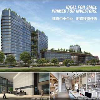 WOODS SQUARE FIRST COMMERCIAL STRATA TITLED OFFICE SPACE AT WOODLAND-BESIDES MRT