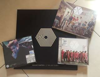 EXO Official Japanese Album & Photobook