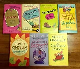 Books by Sophie Kinsella (priced per book)