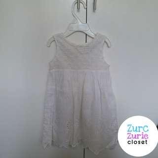 Next White Eyelet Dress | Size 1.5-2yo | Excellent Condition
