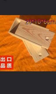 長方形實木盒