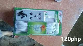 Extension 3 sockets