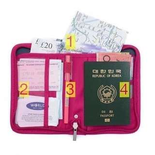 Passport holder pink only