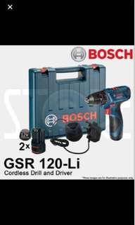 Bosch cordless drill ( new )