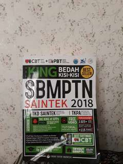 BUKU KING SBMPTN SAINTEK 2018